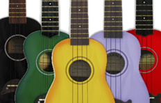 Makala ukuleles back in stock!